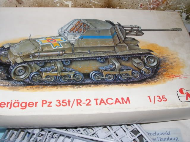 pz 35(t) r2 tacam 2 the build begins (update 6-29-09) DSCF1424