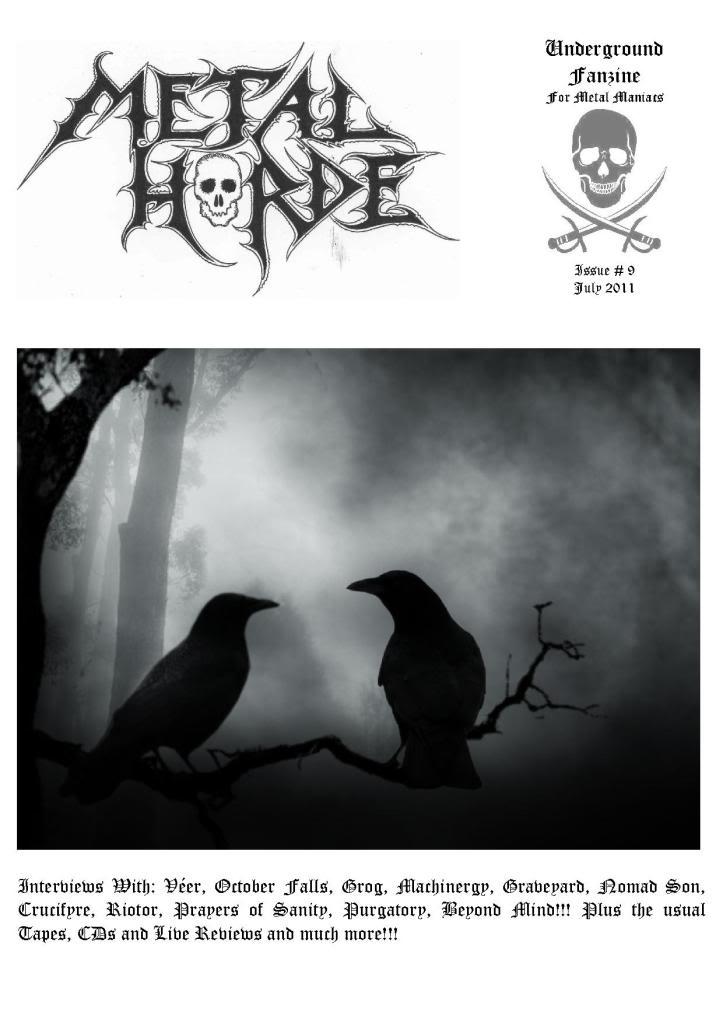 Metal Horde Zine - Nº 14 na rua a partir de 1 de Março Capa_9_MHZ