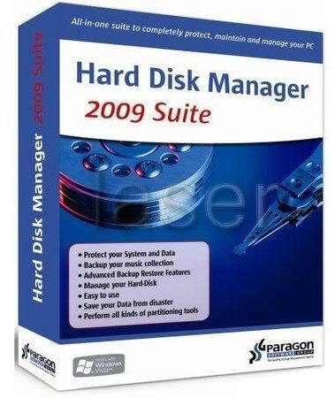 افضل مكتبه برامج ParagonHardDiskManagerSuite2009_wm