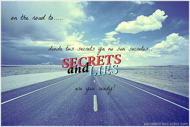 ∆; SECRETS & LIES ♦ Rol!* {PROMO} Promosecrets1