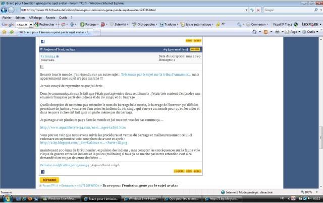 reportage amazonie TF1