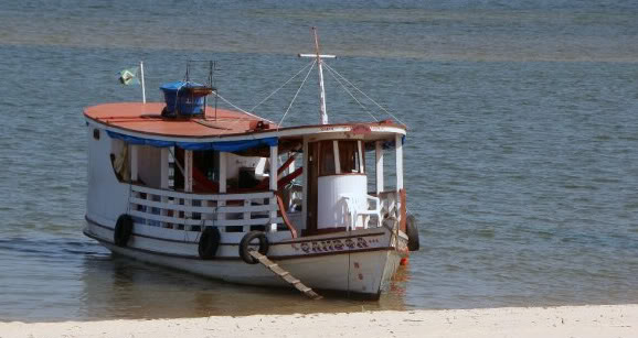 expedition and discovered the Amazon River Bateau