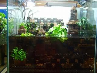 Décoration Lego pour aquarium Block