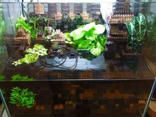 Décoration Lego pour aquarium Block2