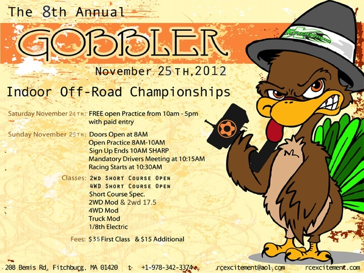 *** 8th Annual Gobbler Off Road Champs ***  RC Excitement November 25th File-7
