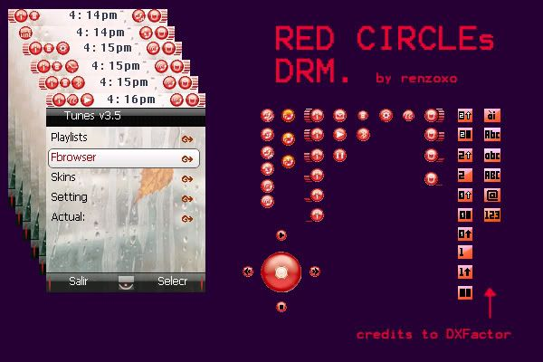 [DRM L7] Red Circles 2.0 by renzox RedCirclesmod20