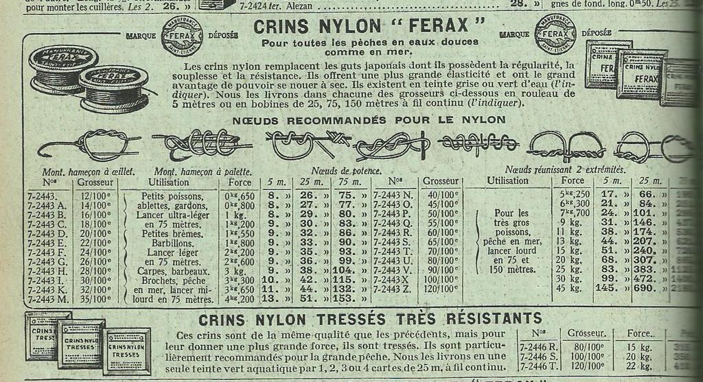 Les photographies du Lac Chauvet  - Page 4 Crins_nylon_1951