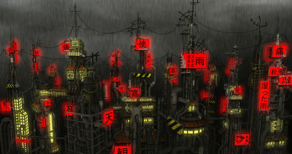 |||| Amegakure no Sato |||| The_hidden_rain_village_by_avada51
