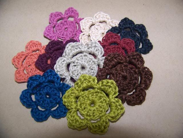 Single Flower Packs NovCrochet007