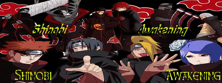 Shinobi Awaking - SA - Naruto RP Site ShinobiAwakeningbanner