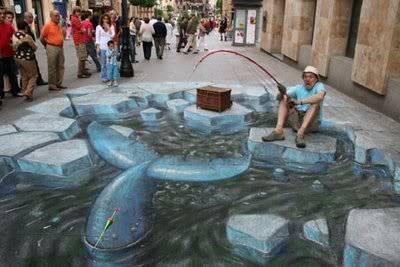 lukisan lukisan 3D yang keren! Arcticwhale