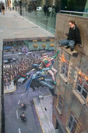 lukisan lukisan 3D yang keren! Satu