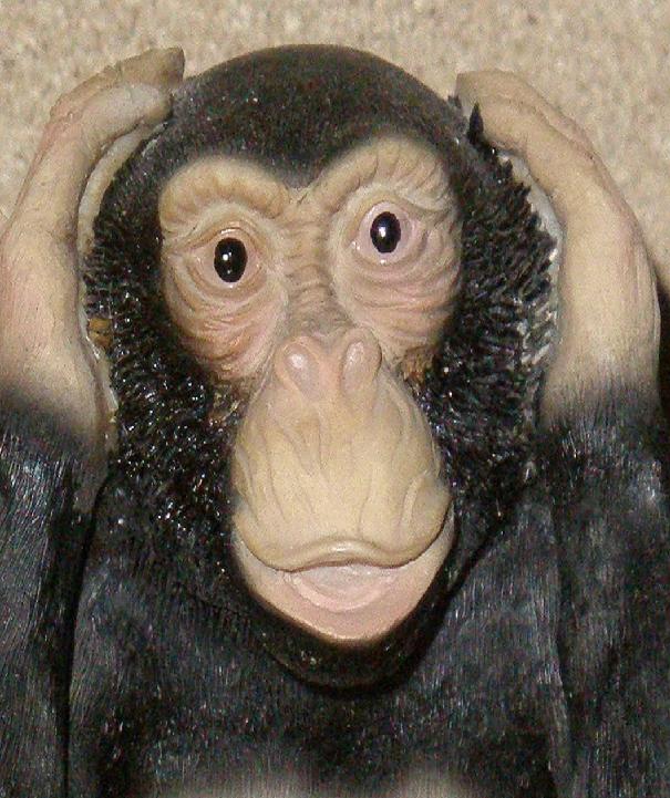 Los tres monos Sabios!!!!! Kikazaru