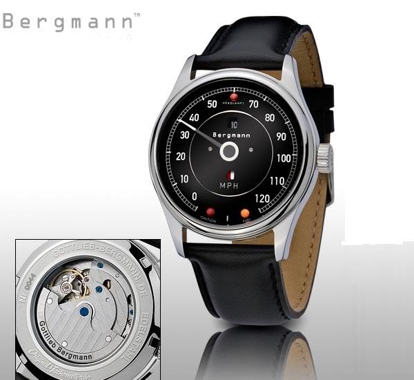 Marque GOTTLIEB - BERGMANN et montres automobiles BERGMANN-JaguarE-Type