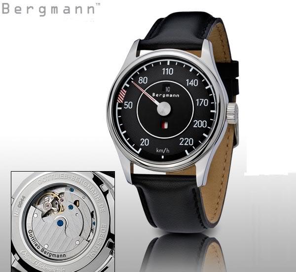 Marque GOTTLIEB - BERGMANN et montres automobiles BERGMANN-MercedesSL