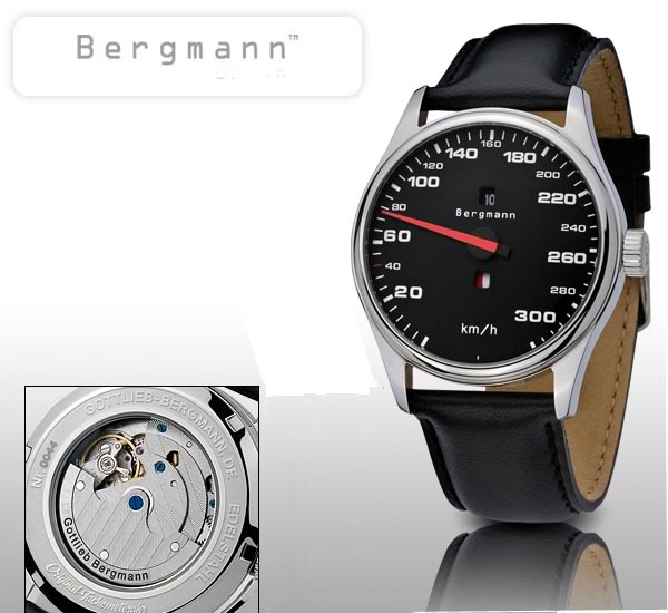 Marque GOTTLIEB - BERGMANN et montres automobiles BERGMANN-Porsche911