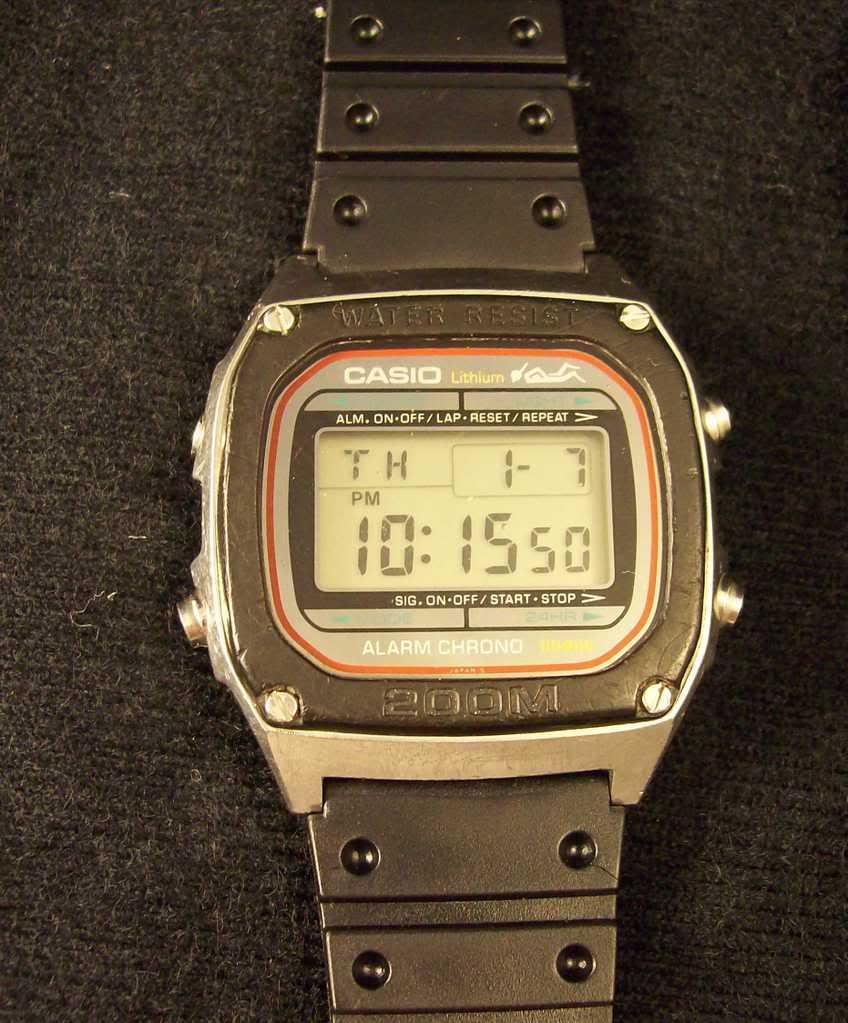 La montre de plongée idéale CASIODW1000
