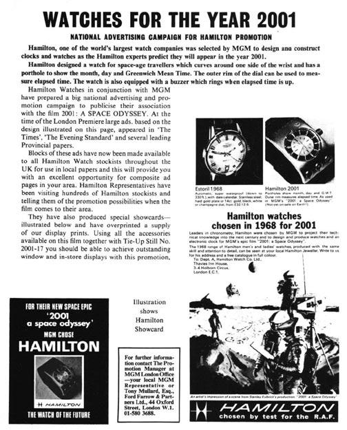 "HAMILTON ""2001 Odyssee de l'Espace"" HamiltonOdyssee-03"