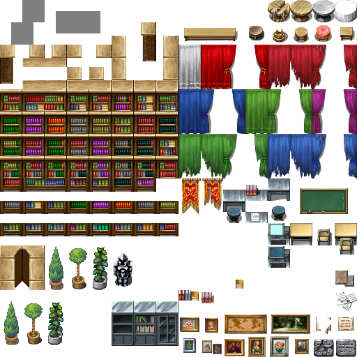 [Dispondo]TileE Biblioteca estilo RTP (Novidade) 37731263