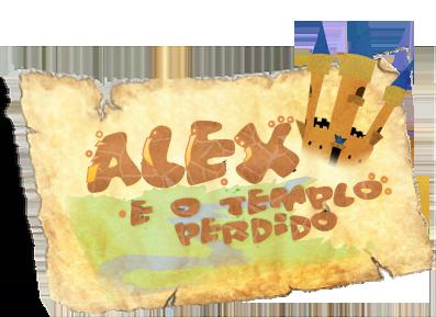 Alex e o Templo Perdido - Beta 2.0 Logo-11