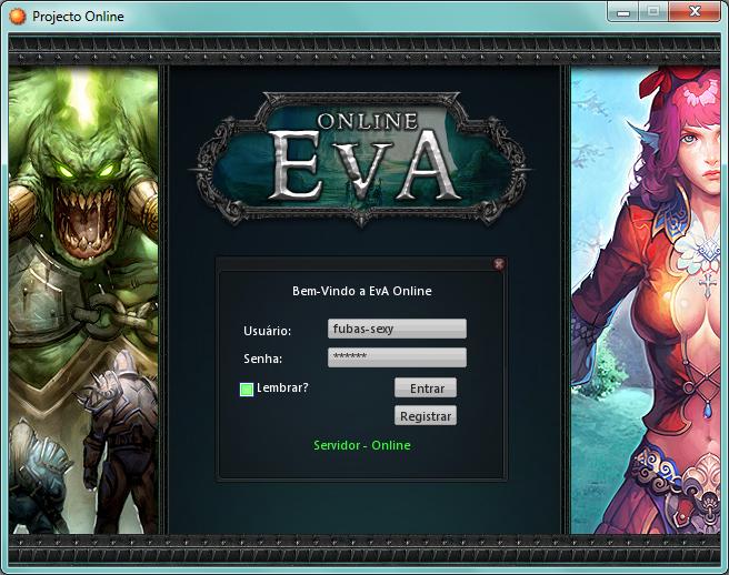 EvA Online - Screenshot de Title Evaonline-1