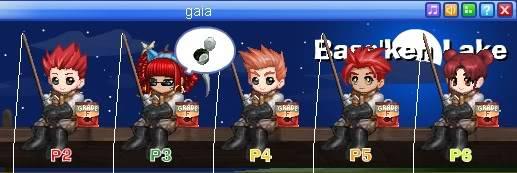 GAIA!!!! Fishing