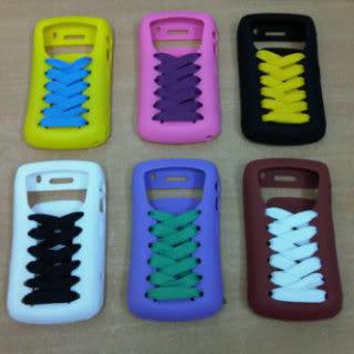 Jual Rugi Silikon Unik Model tali sepatu for BlackBerry Onyx & Gemini Pdajakarta-2