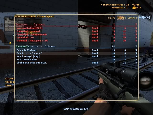 Some Screenshots From my pro days in cs:s LAN38