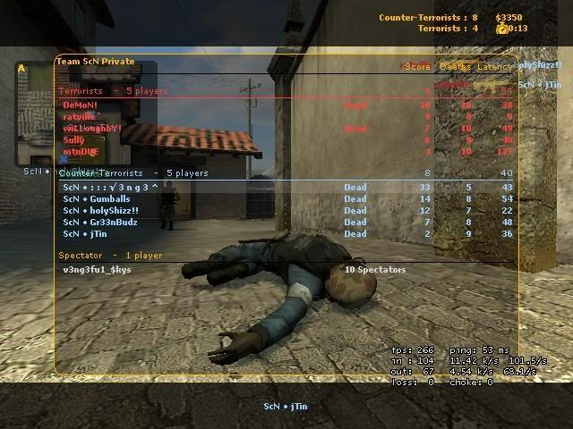 Some Screenshots From my pro days in cs:s Season11