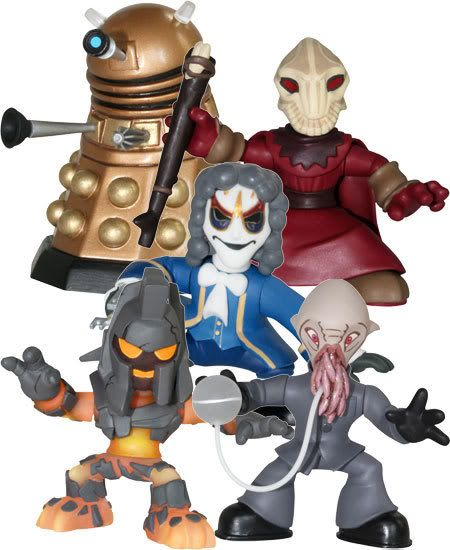 Doctor Who - Time Squad: New Action Figure Line B3397