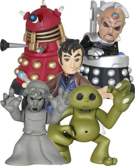 Doctor Who - Time Squad: New Action Figure Line B3399