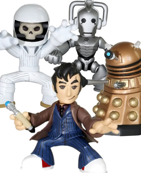 Doctor Who - Time Squad: New Action Figure Line Time-squad