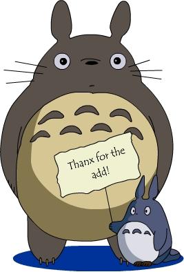 La mascota más mona de anime Totoro