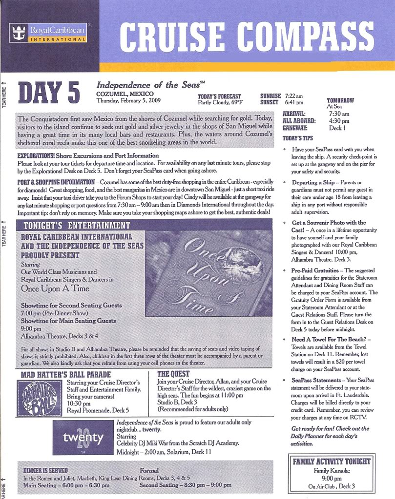 Independence of the Seas Fort Laud, Belize, Costa Maya, Coz - Page 2 IndyDay5a