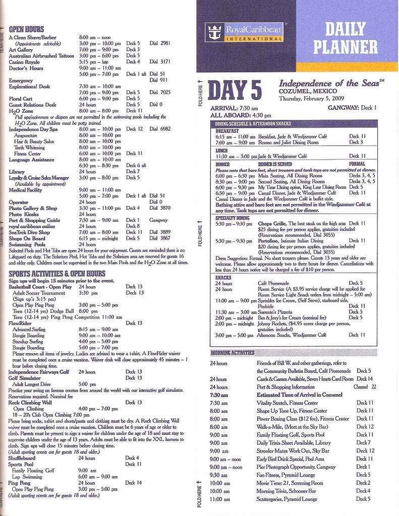 Independence of the Seas Fort Laud, Belize, Costa Maya, Coz - Page 2 IndyDay5b