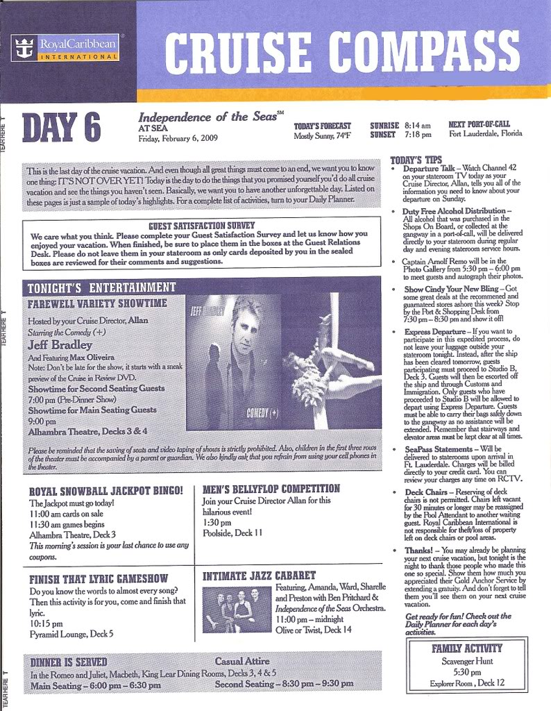 Independence of the Seas Fort Laud, Belize, Costa Maya, Coz - Page 2 IndyDay6a