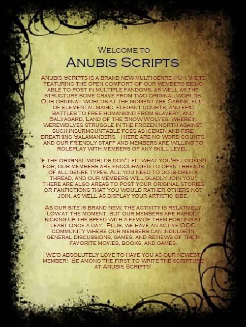 Help Promote Anubis Scripts! PLUG2