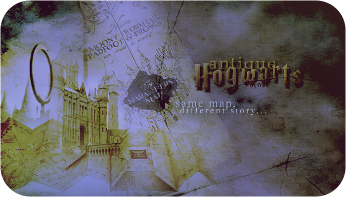 Antique Hogwarts