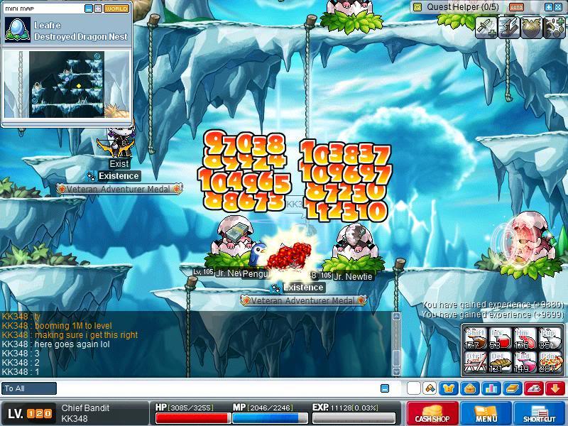 Level 120 =P Maple0021