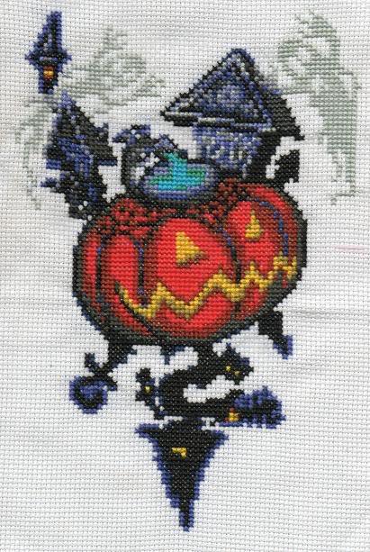 Cross-Stitch by Cristiaso Halloweentown1
