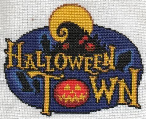 Cross-Stitch by Cristiaso Halloweentown2
