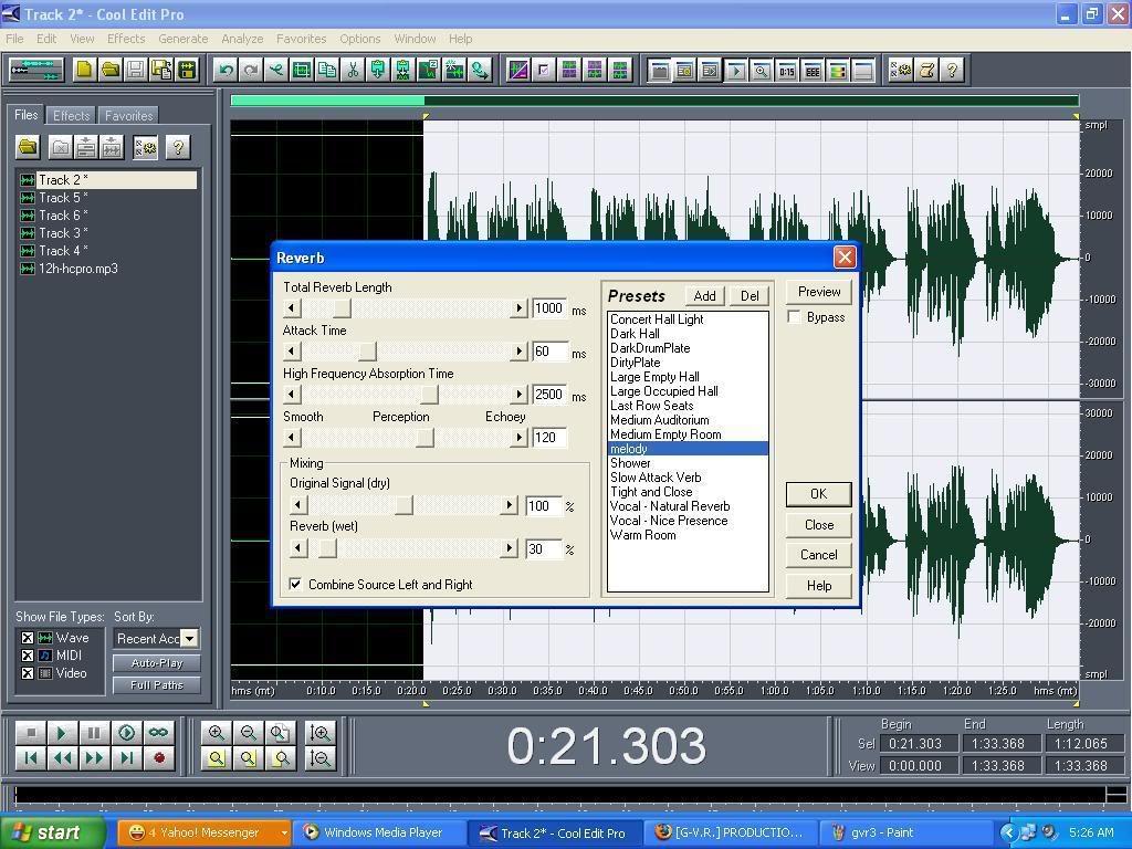 Default mix MELODY đơn giản hiệu quả cao Gvr4