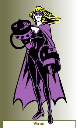 Create your own Superhero/Villain Vixen