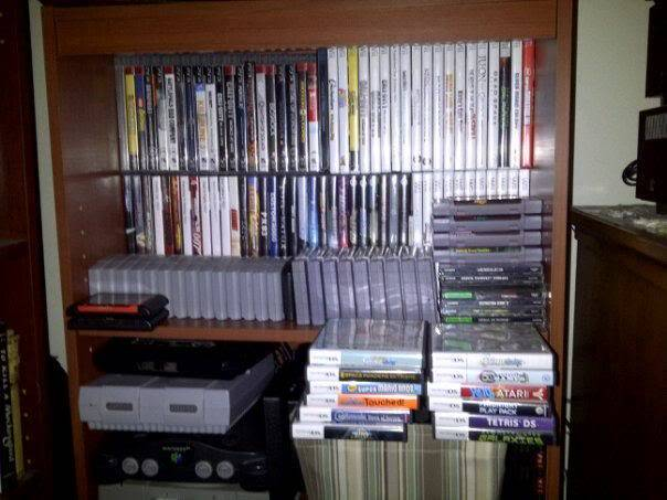 video game collections! Games