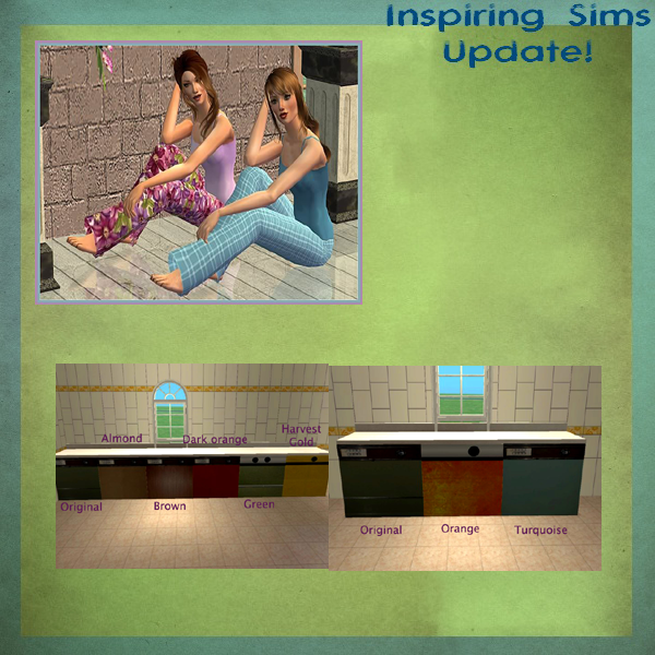 Inspiring Sims Updates Isupdate7