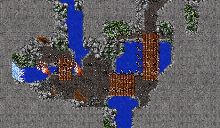 (8.60) Una Montaña Orc bien detallado. Namnloumls