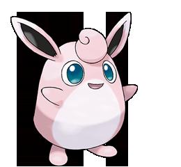 Pokémon, ¡Yo te elijo! Wigglytuff