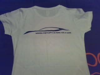 T-shirts Neon Team Car Ecd07d23