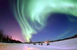 Social Networks Northern-lights-aurora