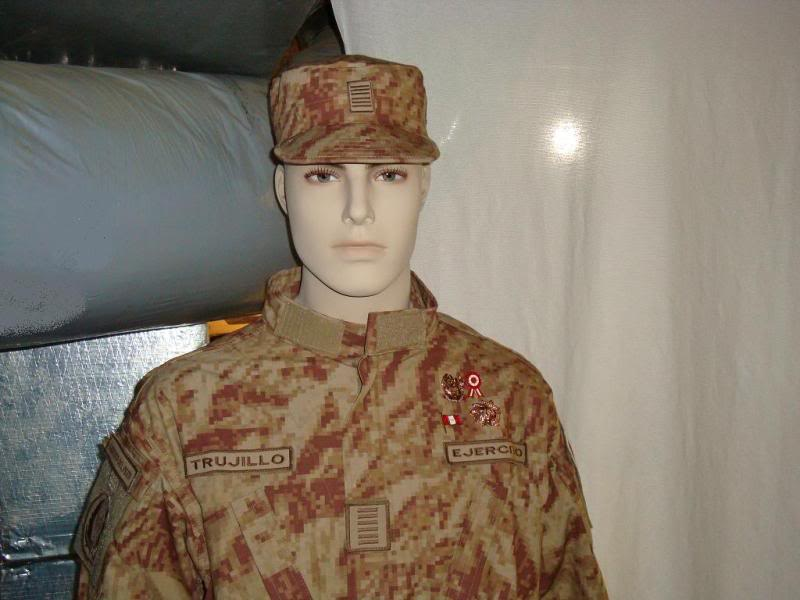 DESERT digital camouflage uniform 002-4